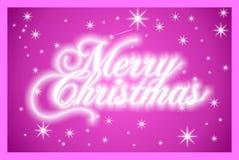 Kerstmis en nieuwe jaarkaart Stock Foto's