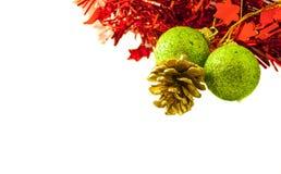 Kerstmis en Nieuwe jaartoebehoren Royalty-vrije Stock Afbeeldingen