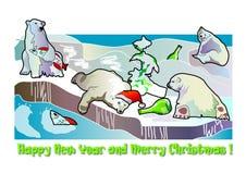 Kerstmis en Nieuwjaar Royalty-vrije Stock Foto's