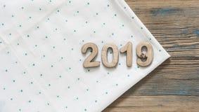 Kerstmis en Nieuwjaar 2019 achtergrond Royalty-vrije Stock Fotografie