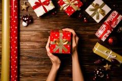 Kerstmis en Nieuwjaar het seizoenconcept van de de wintervakantie royalty-vrije stock fotografie
