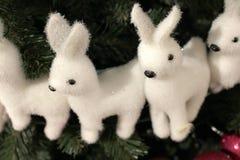 Kerstmis en Nieuwjaar` s Dag feestelijke decoratie Royalty-vrije Stock Foto's