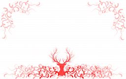 Kerstmis en Nieuwjaarachtergrond Royalty-vrije Stock Afbeeldingen