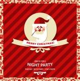 Kerstmis en Nieuwjaarachtergrond Stock Afbeelding