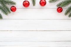 Kerstmis en Nieuwjaarachtergrond Stock Foto