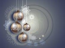 Kerstmis en Nieuwjaarontwerp Royalty-vrije Stock Foto's