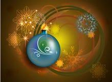 Kerstmis en Nieuwjaarontwerp Royalty-vrije Stock Afbeeldingen