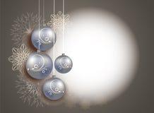 Kerstmis en Nieuwjaarontwerp Stock Fotografie