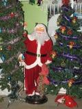 Kerstmis en Nieuwjaarscène Stock Afbeeldingen