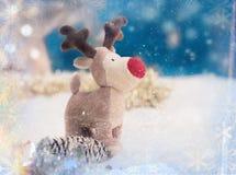 Kerstmis en Nieuwjaarskaart Stock Fotografie