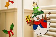 Kerstmis en Nieuwjaarsymbolen Royalty-vrije Stock Foto's