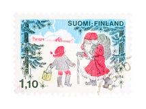Kerstmis in Finland Stock Foto's