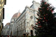 Kerstmis in Florence 2014, Italië Stock Foto