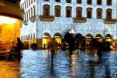 Kerstmis in Florence 2014, Italië Royalty-vrije Stock Foto