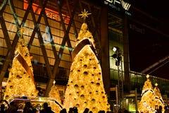 Kerstmis & Gelukkig Nieuwjaar 2017 Stock Afbeelding