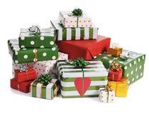 Kerstmis giifts royalty-vrije stock afbeeldingen