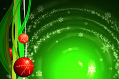 Kerstmis in groene tonen Stock Foto's