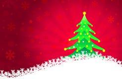 Kerstmis groet-Vector Royalty-vrije Stock Foto's