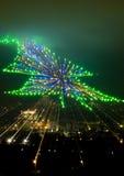 Kerstmis in Gubbio Royalty-vrije Stock Foto's