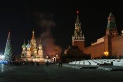 Kerstmis het Kremlin Royalty-vrije Stock Foto's