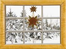 Kerstmis in het land royalty-vrije stock foto's