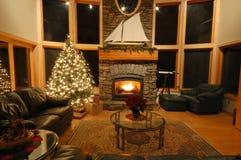 Kerstmis in het Noordwesten Stock Foto's
