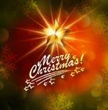 Kerstmis het vector van letters voorzien vector illustratie
