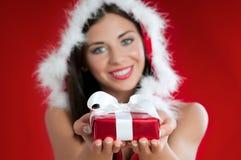 Kerstmis huidig voor u Stock Afbeelding