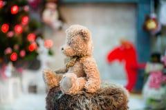 Kerstmis in huis Royalty-vrije Stock Foto