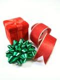 Kerstmis isoleerde 2 royalty-vrije stock foto