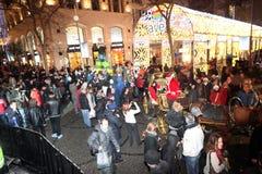 Kerstmis in Istanboel, Turkije royalty-vrije stock foto's