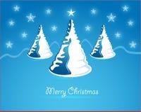 Kerstmis kaart Royalty-vrije Stock Foto