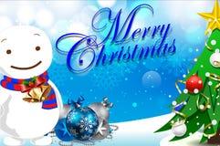 Kerstmis kaart-05 Stock Foto