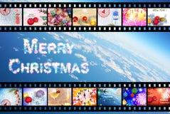Kerstmis komst Royalty-vrije Stock Afbeeldingen