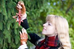Kerstmis komt Stock Fotografie
