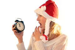Kerstmis komt. stock fotografie