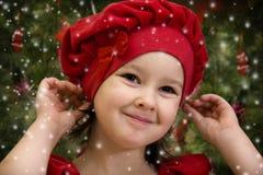 Kerstmis komt Stock Afbeelding