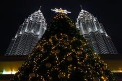 Kerstmis in Kuala Lumpur Royalty-vrije Stock Foto