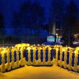 Kerstmis in Lapland stock foto