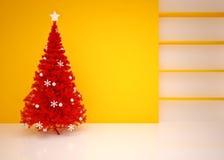 Kerstmis Leeg binnenland Royalty-vrije Stock Afbeelding