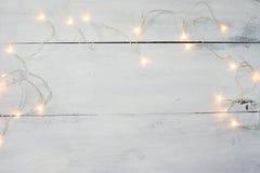 Kerstmis lichte achtergrond, kleurrijk licht Royalty-vrije Stock Fotografie
