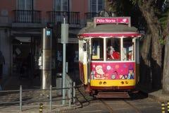 Kerstmis in Lissabon Royalty-vrije Stock Afbeeldingen