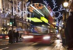 Kerstmis in Londen Stock Afbeelding