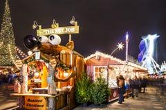 Kerstmis in Londen Royalty-vrije Stock Foto's