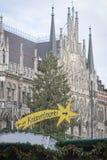Kerstmis in München Royalty-vrije Stock Fotografie