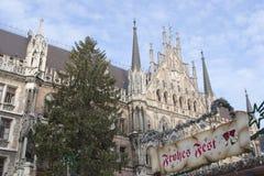 Kerstmis in München Stock Fotografie