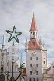 Kerstmis in München Royalty-vrije Stock Foto's
