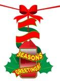 Kerstmis markering Stock Foto