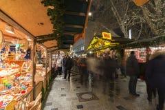 Kerstmis markt in Hanover Stock Foto's