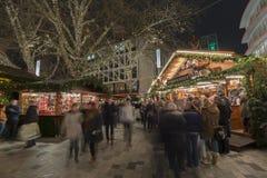 Kerstmis markt in Hanover Royalty-vrije Stock Foto's